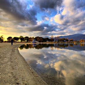 California by Jerzy Szablowski - Landscapes Travel ( reflection, sky, california, santa fe )