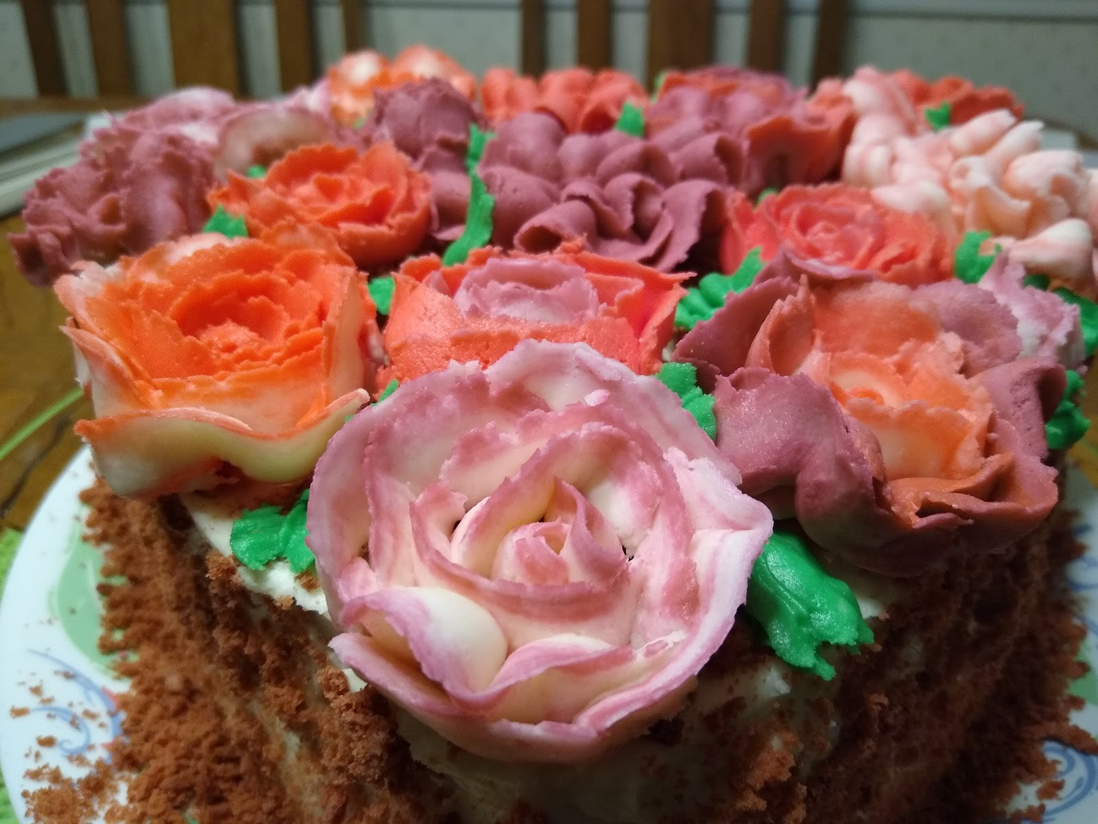buttercream flowers images