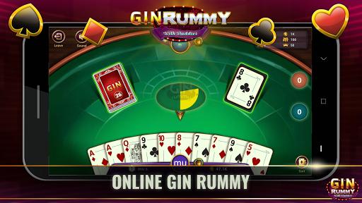 Gin Online - Free Online Card Game 1.0.5 screenshots 1