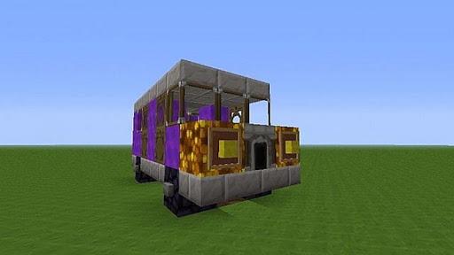 Build Minecraft Vehicles Block