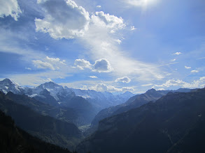 Photo: nice clouds forming over Interlaken