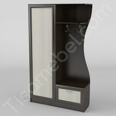 Прихожая-10 мебель разработана и произведена Фабрикой Тиса мебель