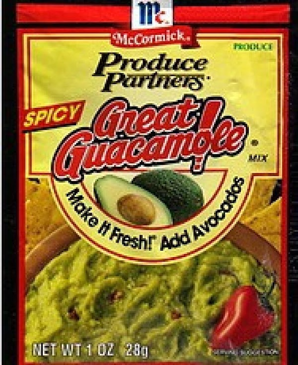 Cut avocados in half and take out seed. Set 3-4 aside. While still in...