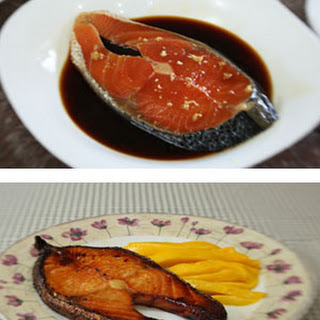 Broiled Teriyaki Salmon