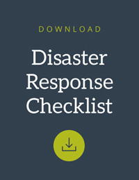 Download the corporate disaster response checklist.