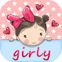 Girly Wallpapers - Special backgrounds for Girls APK icon