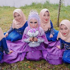 bridesmaid by Llurymhays Pwbs - Wedding Bride ( malaysia traditonal wedding )