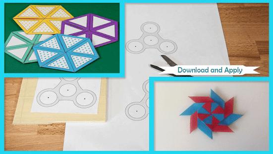 Jak dělat Fidget Spinners Papír skládání - náhled