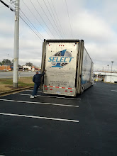 Photo: The truck before it is opened up