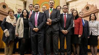 Parlamentarios de Vox Andalucía.