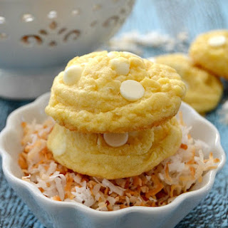 Coconut Cream Pudding Cookies