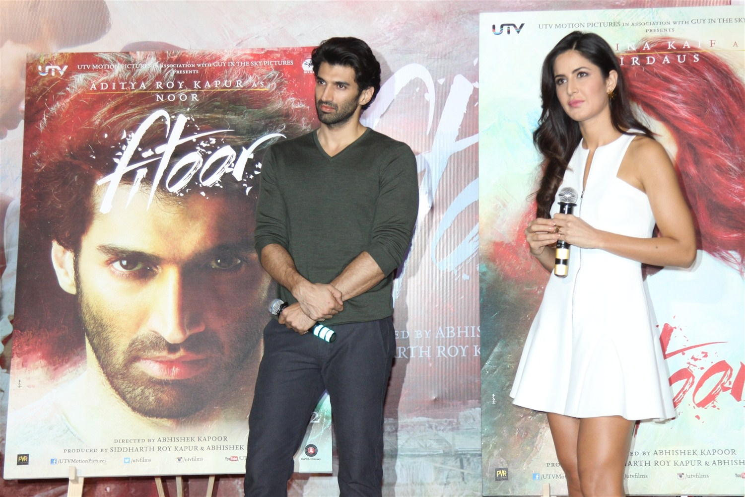 "Katrina Kaif At Upcoming Movie ""Fitoor"" Trailer Launch"
