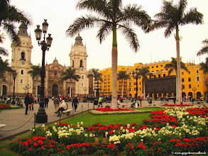 Photo: #017-Lima. La Plaza Mayor (ex-Plaza de Armas).