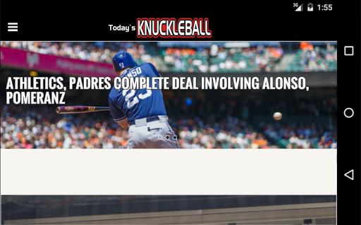 免費下載運動APP|Today's Knuckleball app開箱文|APP開箱王