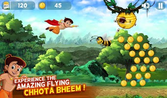 Screenshot of Chhota Bheem Jungle Run