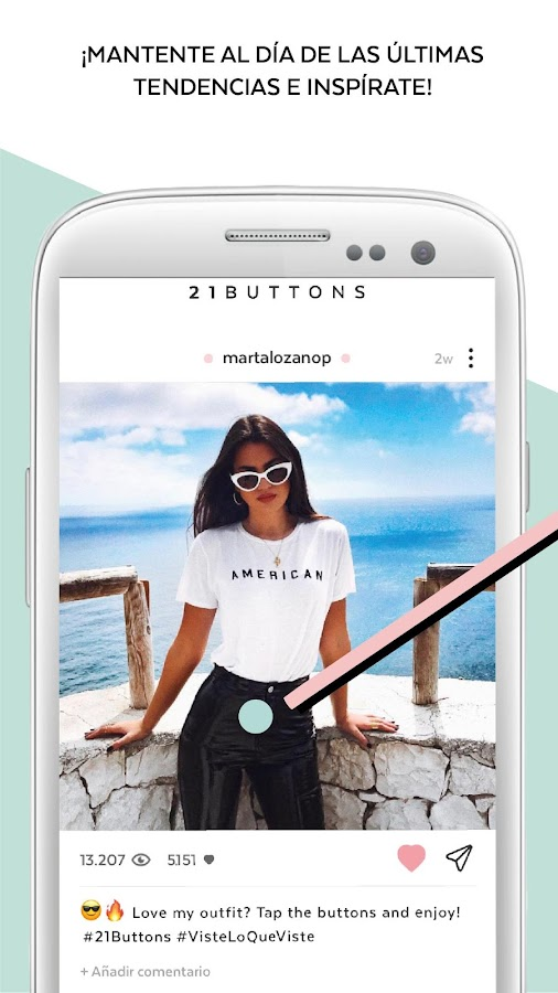 21 Buttons - Outfits de moda: captura de pantalla