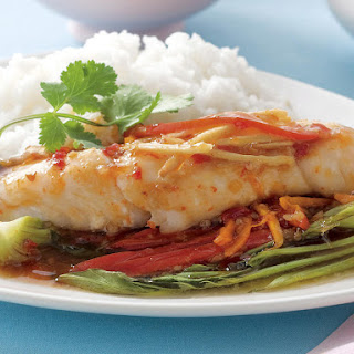 Sweet Chili Fish Parcels.