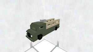 軍用トラック(人付き)