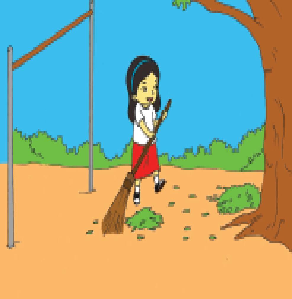 77 Gambar Kartun Menyapu Halaman Rumah Gratis Terbaik