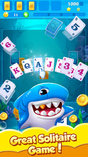 Solitaire Mermaid & Fish 1.8.30 screenshots 1