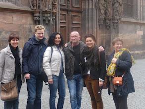 Photo: Amb alguns professors i professores de diferents països