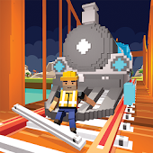 River Railway Bridge Construction Train Games 2017