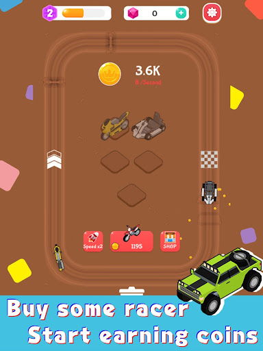Merge Car Racer - Idle Rally Empire 2.7.0 screenshots 7