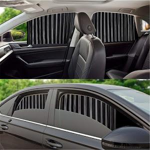 Set 4 parasolare retractabile auto, geamuri laterale fata-spate