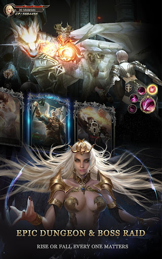 Immortal Thrones-3D Fantasy Mobile MMORPG  screenshots 15