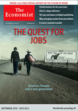 Photo: The Economist cover: Worldwide ex UK edition. September 10th 2011