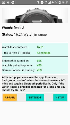 Garmin Vivoactive 3 Disconnecting