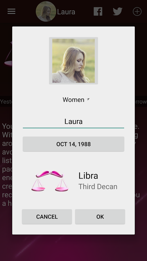Women Horoscope- screenshot