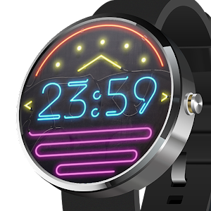 Watch Face Neon app for android