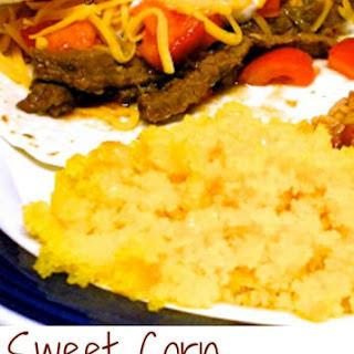 Sweet Corn Tamalitos (Corn Cake).
