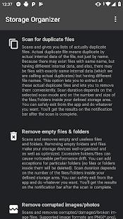 Storage Organizer PRO Screenshot