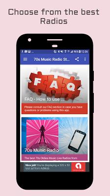70s Music Radio Stations - screenshot