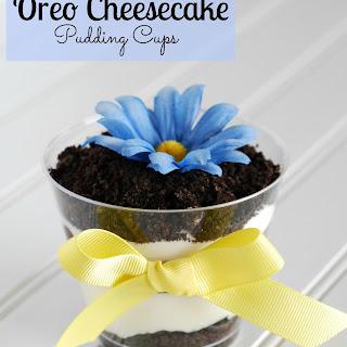 Oreo Cheesecake Pudding Pops.