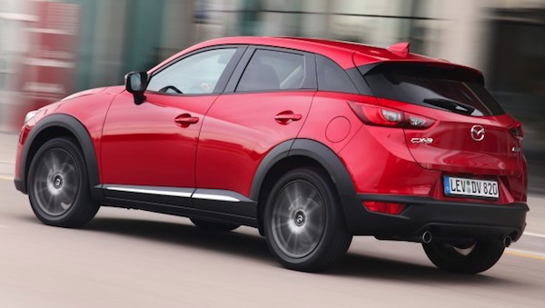 สปอร์ตเต็มขั้นสำหรับ Mazda CX-3