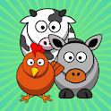 Old animal farm icon