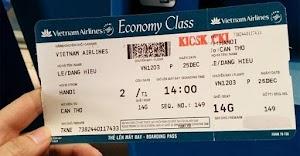 Các loại thuế phí trên vé máy bay