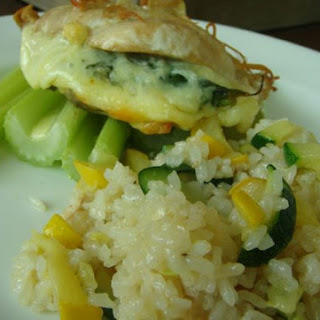 Ohba Chicken with Courgette Rice
