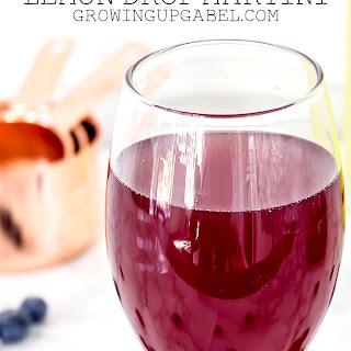 Blueberry Lavender Lemon Drop Martini
