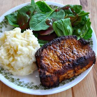 Blackened Pork Chops Recipe