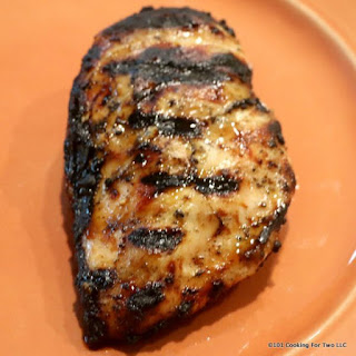 Super Moist Grilled Skinless Boneless Chicken Breasts.