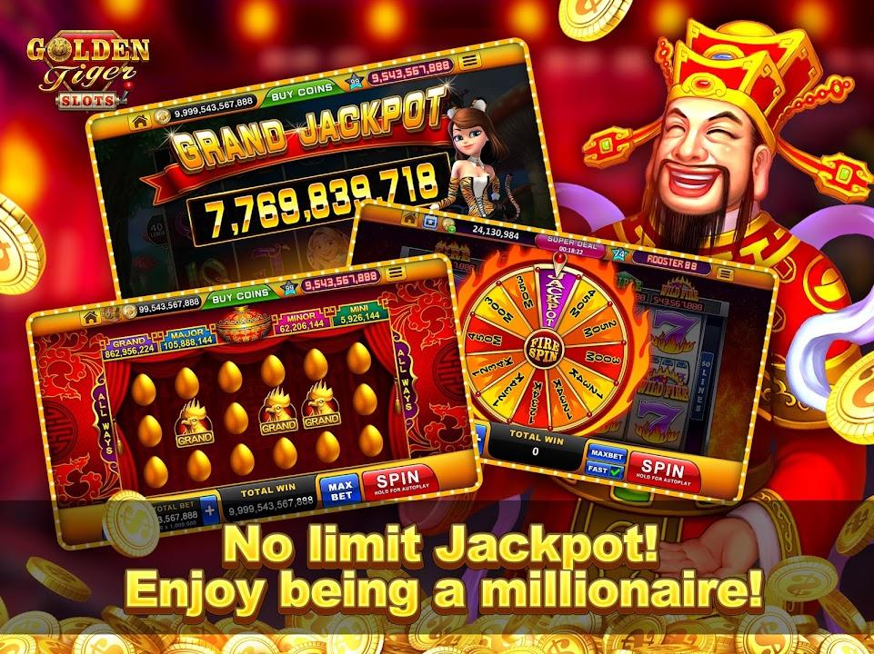 Golden Tiger Slots Online Casino Game Download Apk Free For Android Apktume Com