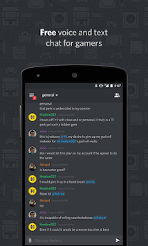 Discord - Chat For Gamers APK screenshot thumbnail 1