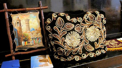 Photo: Handicraft frpm Uzbekistan