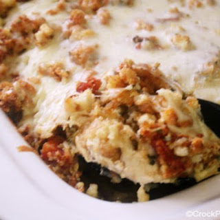 Crock-Pot Bruchetta Chicken Bake.