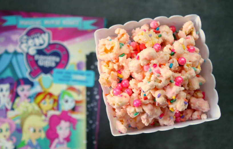 Pinkie Pie's Party Popcorn for a My Little Pony: Equestria Girls: Magical Movie Night