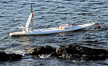 Photo: kleines Fischerboot im Mittelmeer